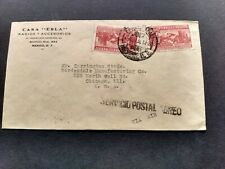 MEXICO - Air Mail Cover from Mexico to U.S.A. ( 1929 )