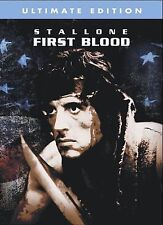 Rambo: First Blood Ultimate Edition DVD   Sylvester Stallone