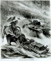 """Kampfgebiet Orel Russland Winter 42/43 """"Panzer brechen durch"""" Berichter Freiwald"""