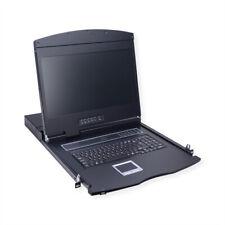 "19""-KVM-Konsole, 48 cm (19"") TFT (16:9), VGA, USB, Tastaturlayout Deutsch"