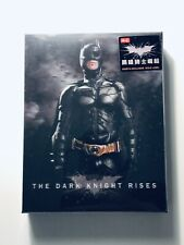 THE DARK KNIGHT RISES Blu-ray STEELBOOK [HDZETA] DOUBLE LENTI OOS/OOP Batman WEA