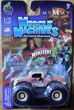 MUSCLE MACHINES Bride of Frankenstein Monster Truck Mosc New 1:72