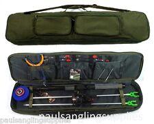 6 Ft Fishing Set / Kit Rod Reel Tackle Bag Floats Shot Hooks Travel Deluxe Case