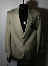 Men's BOSTON TRADER'S Tan Casual Blazer Sports Jacket Size 42R NWT