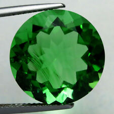 12.750CTS ROMANTIC ROUND CUT GREEN NATURAL MOLDAVITE  LOOSE GEMSTONES