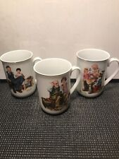 3 Norman Rockwell Museum Mugs