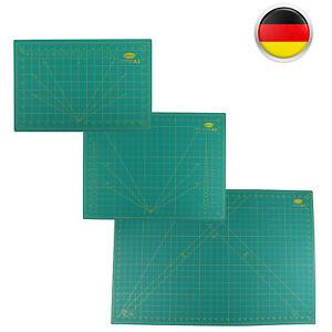 Schneidematte A1 / A2 Grün, 5 Schichten! Selbstheilend Unterlage Bastelmatte DHL
