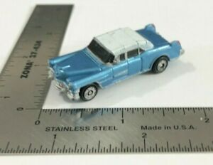 Micro Machines 1989 Galoob Cadillac Blue '50s Limousine Limo