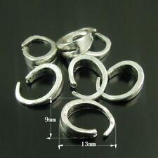 75 Stück Retro Silber Legierung Verschluss Verbinder Schmuck Handwerk 13*9*4mm