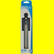 """GRAY Selfie Stick JJC SS-80 Apt to iPhone Android w/Cable 7-31.5""""X5 X5L X5S X5F"""
