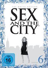 SEX AND THE CITY SEASON 6 WHITE EDITION  5 DVD NEU