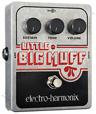 EHX Electro Harmonix Little Big Muff Pi Distortion Fuzz Sustainer Pedale per Chitarra