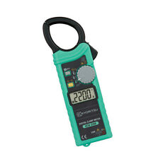Kyoritsu 2200 AC Digital Clamp Meter AC/DC/Ω 1000A Slim Handy design NEW