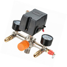Secbolt Pressure Switch Manifold Regulator Gauges Air Compressor Parts Control V