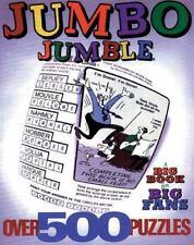 Jumbo Jumble(r): A Big Book for Big Fans (Paperback or Softback)
