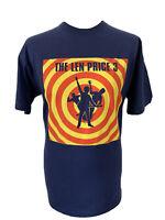 FOTL The Len Price 3 Three Blue Rock Music Graphic Print Gig Tee T-Shirt L RARE