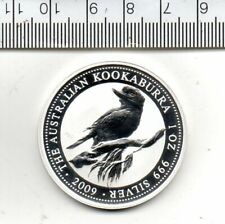 1994 DESIGN AUSTRALIA KOOKABURRA ON 2009 ISSUE WESTMINSTER SILVER DOLLAR