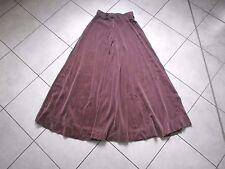 Jupe maxi longue Ted Lapidus velours à dessin S XS long skirt