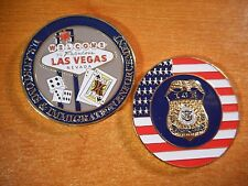 Department Homeland Security Las Vegas ICE Police Special Agent Challenge Coin