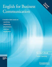English for Business Communication Teacher's book by Simon Sweeney...