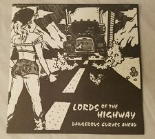 LORDS OF THE HIGHWAY 'Dangerous Curves Ahead',Rare 1998 Cleveland Psychobilly CD
