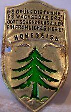 Hohegeiss used badge mount stocknagel hiking medallion G5551