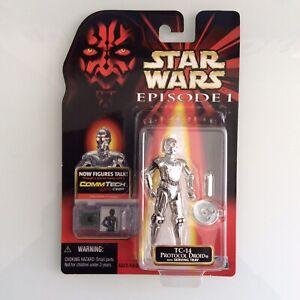 Star Wars Episode 1 TC-14 PROTOCOL DROID Hasbro Action Figure BNIB Menace Toy