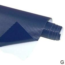 D Carbon Fiber Matte Vinyl Film Auto Car Sheet Wrap New2019 Decor Sticker R T3V2