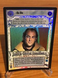 Star Wars CCG RIC OLIE Reflections 3 Foil Used