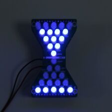 Dc 5V Blue Led Electronic Hourglass Diy Kit Funny Electronic Study Kits for Gift