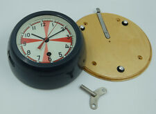 USSR RUSSIAN SUBMARINE NAVY MARINE SHIP CABIN RADIO DECK-HOUSE CLOCK 1-82