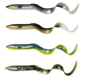 Savage Gear 4D Real Eel 15- 40cm/12-147g Loose Body Gummiaal Real Aal Wels Hecht