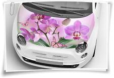 Orchidee Schmetterling Motorhaube Auto-Aufkleber Schutz-Folie Airbrush Tuning