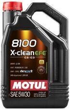 Olio Motore Motul 8100 X-clean EFE C2 C3 Ll-04 dexos 2 505-01 229 52 5w-30 5lt