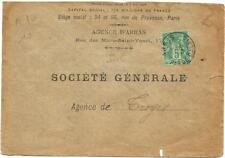 Arras,Enveloppe 1893.