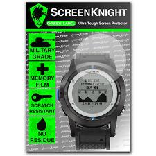 ScreenKnight Garmin Quatix SCREEN PROTECTOR invisible military shield