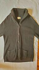 Polo Ralph Lauren Mens Shawl Collar Cardigan Mens L in dark charcoal