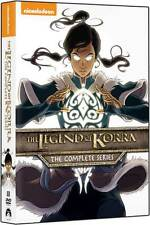 The Legend of Korra:Complete Series DVD NEW Book 1 2 3 4 Air Spirits Change Bala