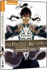 The Legend of Korra:Complete Series DVD NEW Book 1 2 3 4 Air Spirits Change Bala