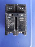 Cutler Hammer BR230 Eaton Molded Case Circuit Breaker 2 pole 30 amp 120 Volt