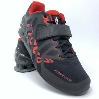 Inov-8 Fast Lift 335 Weightlifting Shoes Black Red Men's 8 Women's 9.5 NEW!