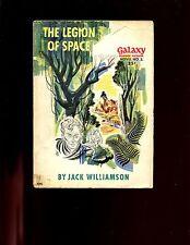 THE LEGION OF SPACE   - Galaxy novel # 2 ,  SB pulp,   Jack Williamson