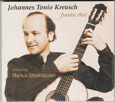 Johannes Tonio Kreusch- Panta Rhei BRAND NEW CD Free 1st Class UK P&P