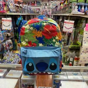 "KBNL Disney Lilo & Stitch: stitch All Printed 16"" School Blue Backpack"