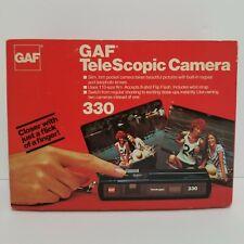 Vintage GAF Telescopic 330 Camera
