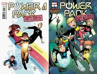 Marvel Comics 2020 Power Pack Outlawed #1 Main + Billy Martin Zombies Var 11-25
