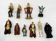 Lot of 10 Star Wars Figurines - Hasbro 1998 1999 LFL and Others