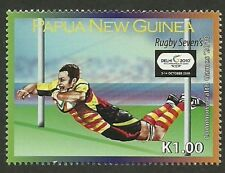 PAPUA NG 2010 COMMONWEALTH GAMES RUGBY Single MNH