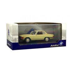 SOLIDO 421436340 - 1/43 Mercedes-Benz 350 SL (r107) 1971-Beige-Neuf