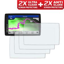 BMW Navigator VI Nav 6 GPS Screen Protectors: 2 x Ultra Clear & 2 x Anti Glare